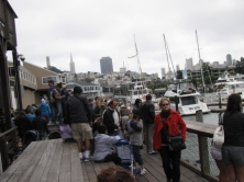 По кейовете на Сан Франциско е винаги пълно с народ