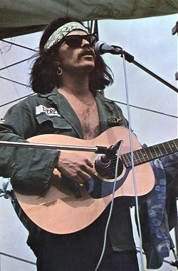Countr Joe at Woodstock 1969